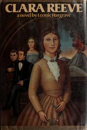 Cover of: Clara Reeve