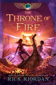 Cover of: The throne of fire