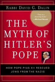 Cover of: The myth of Hitler's Pope