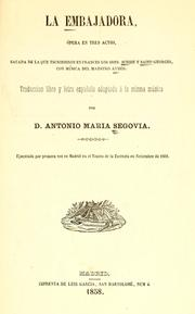 Cover of: La embajadora
