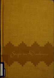Cover of: Steps in darkness
