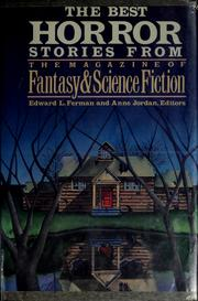 Cover of: The Best Horror Stories from the Magazine of Fantasy and Science Fiction