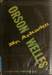 Cover of: Mr. Arkadin: a novel.