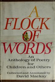 Cover of: A flock of words | Mackay, David