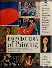 Cover of: Encyclopedia of painting | Bernard Samuel Myers
