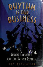 Cover of: Rhythm is our business | Eddy Determeyer