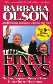 Cover of: The Final Days | Barbara Olson