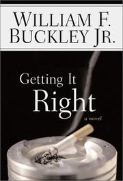 Cover of: Getting It Right