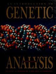Cover of: An introduction to genetic analysis