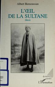 Cover of: L'Œil de la sultane