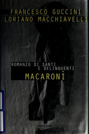 Cover of: Macaronì