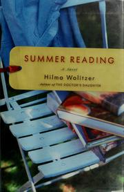 Cover of: Summer reading | Hilma Wolitzer