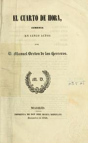 Cover of: El cuarto de hora