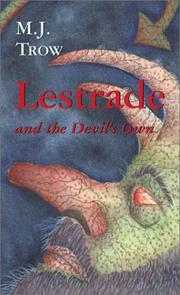 Cover of: Lestrade and the devil's own