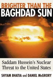 Brighter than the Baghdad sun by Shyam Bhatia