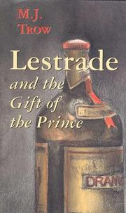 Cover of: Lestrade and the gift of the prince