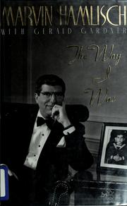 Cover of: The way I was