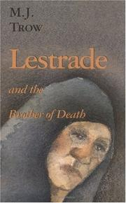 Cover of: Lestrade and the Brother of Death