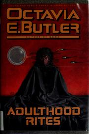 Cover of: Adulthood rites | Octavia E. Butler