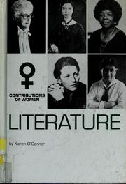 Cover of: Contributions of women, literature