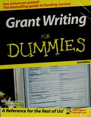 Cover of: Grant writing for dummies