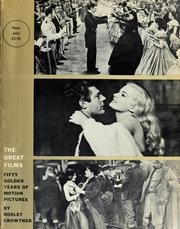 Cover of: The great films | Bosley Crowther