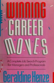 Cover of: Winning career moves | Geraldine Henze