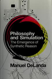 Cover of: Philosophy and simulation