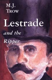 Cover of: Lestrade and the Ripper