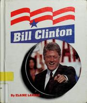 Cover of: Bill Clinton | Elaine Landau