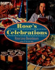 Cover of: Rose's celebrations
