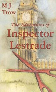 Cover of: The adventures of Inspector Lestrade