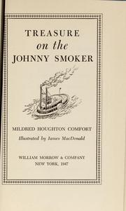 Cover of: Treasure on the Johnny Smoker by Mildred Houghton Comfort