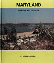 Cover of: Maryland in words and pictures