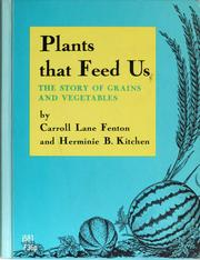 Cover of: Plants that feed us