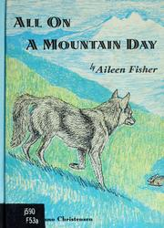 Cover of: All on a mountain day