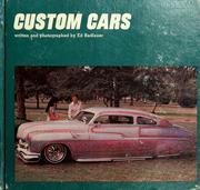 Cover of: Custom cars