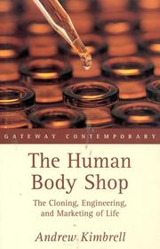 Cover of: The Human Body Shop | Andrew Kimberll