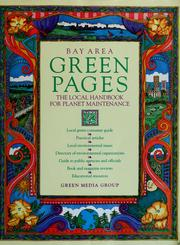 Bay Area Green Pages by Stephen Evans