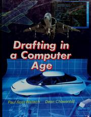Cover of: Drafting in a computer age