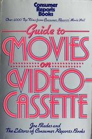 Cover of: Guide to movies on videocassette | Joe Blades