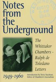 Cover of: Notes from the underground