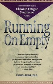 Running on empty by Katrina H. Berne