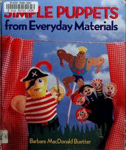 Cover of: Simple puppets with everyday materials