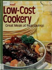Cover of: Sunset low-cost cookery