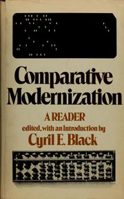 Cover of: Comparative Modernization