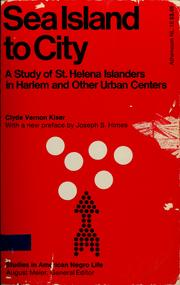 Cover of: Sea island to city