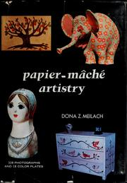Cover of: Papier-mâché artistry