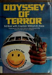 Cover of: Odyssey of terror | Blair, Ed