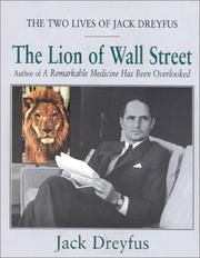 Cover of: The lion of Wall Street